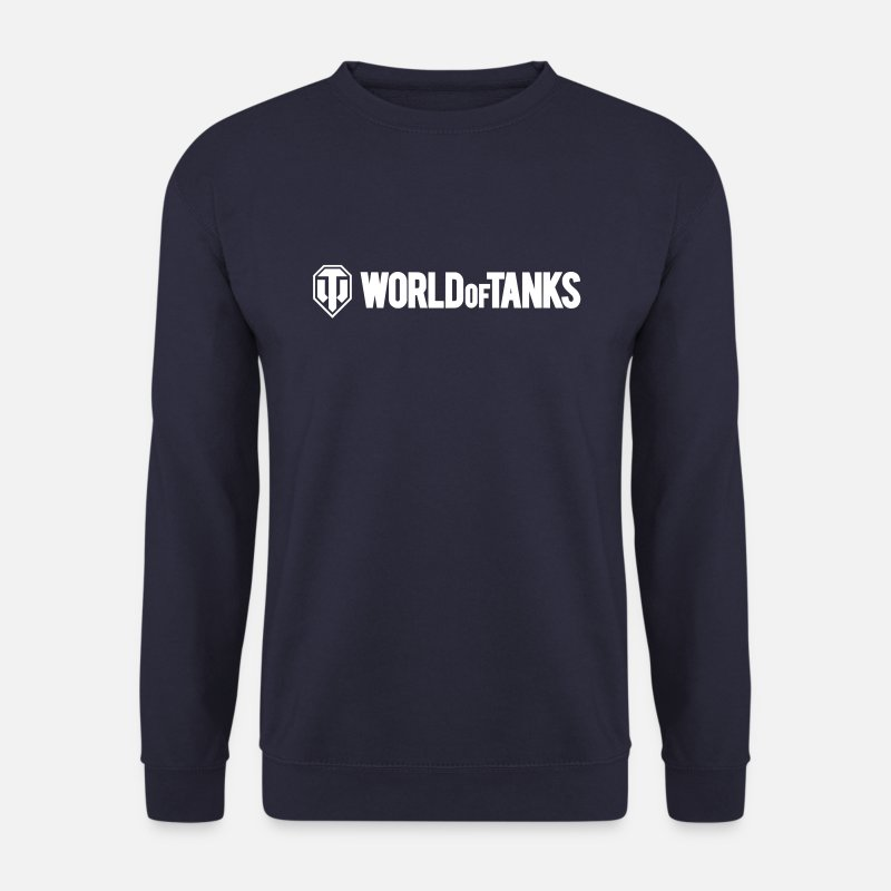 World Hoodies & Sweatshirts - World of Tanks Vector - Men's Sweatshirt navy