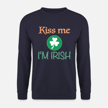 Oom Kiss Me I'm Irish Ireland Grappige gift - Mannen sweater
