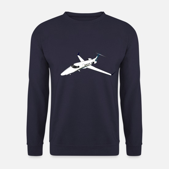 Vol Sweat-shirts - Jet privé Avion Jet Jet - Sweat-shirt Homme marine