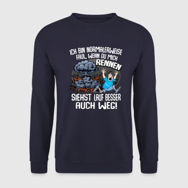 Slacker run away explosion - Men's Sweatshirt