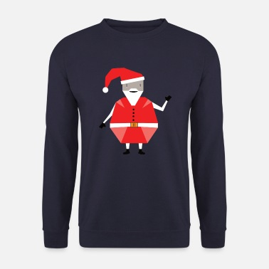 Red christmas doll - Men's Sweatshirt