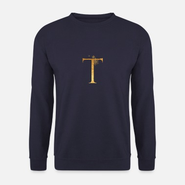 Initial Lettre initiale T - Sweat-shirt Homme