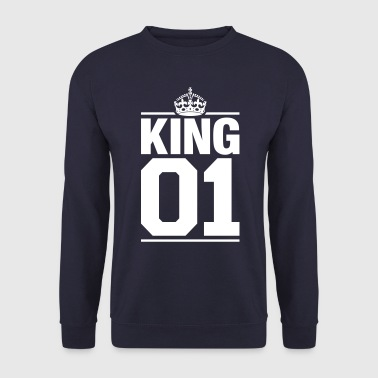 Mariage King 01 - Sweat-shirt Homme