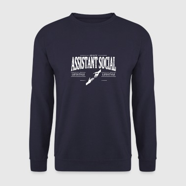 Assistant Social - Sweat-shirt Homme