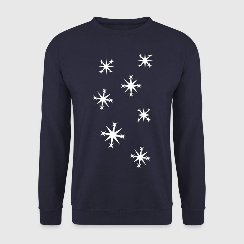 Flocon de neige - Sweat-shirt Homme