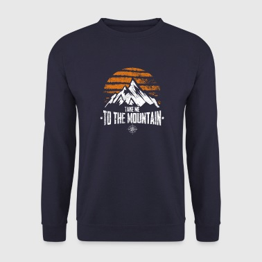 Take Me To The Mountain. Vintage - Men's Sweatshirt