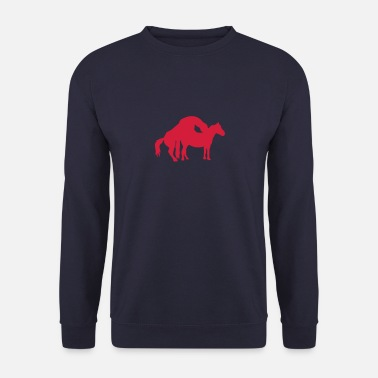 Reproduction chevaux cheval amour saillie 0 - Sweat-shirt Homme