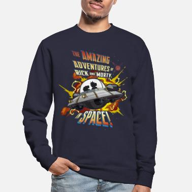 Rick and Morty Amazing Adventures in Space - Unisex Sweatshirt
