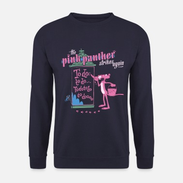 Pink Panther Paulchen Strikes Again To Do - Unisex Pullover