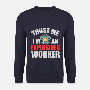 Explosion Bomb blaster équipe explosif - Sweat-shirt Homme