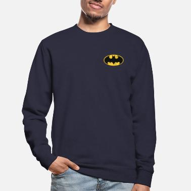 Batman small Logo Used Look - Tröja unisex
