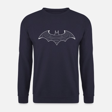 Logo Batman Logo Stripes - Sweat-shirt Unisexe