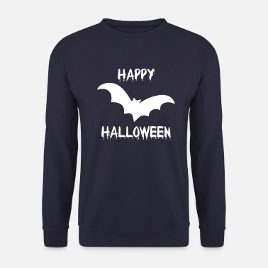 Trick Or Treat Halloween bat vampire creepy funny - Unisex Sweatshirt
