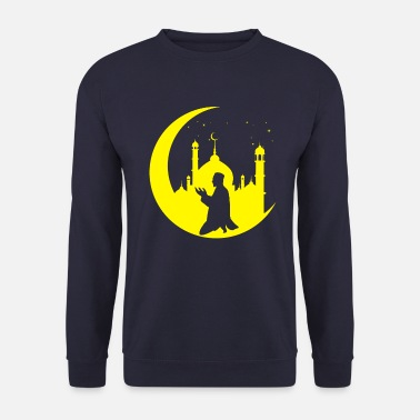 Bible Prayer Crescent Islam Muslim Religion - Men's Sweatshirt