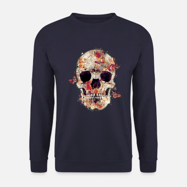 Tête De Mort skull-and-butterfly - Sweat-shirt Unisex