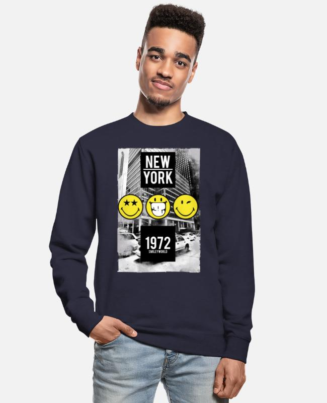 Hipster Sweaters & hoodies - Smileyworld 'New York Statue of Liberty' - Unisex sweater navy