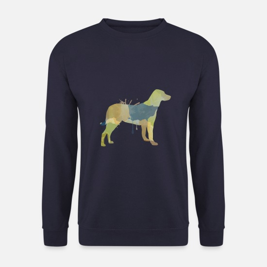 Birthday Hoodies & Sweatshirts - dog - Unisex Sweatshirt navy