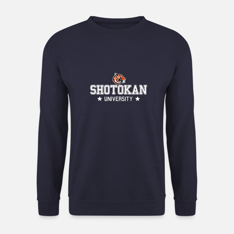 Mma Hoodies & Sweatshirts - Shotokan University - Men's Sweatshirt navy