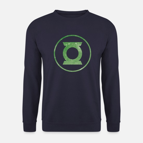 Superman Sweaters & hoodies - Justice League Green Lantern Logo - Unisex sweater navy