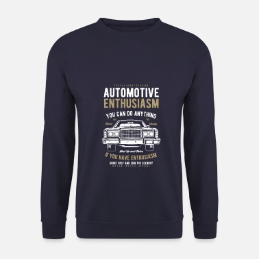 Enthousiasme Enthousiasme automobile - Sweat-shirt Homme