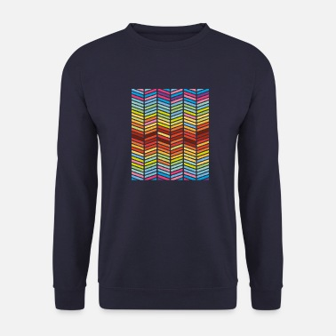 Pattern Pattern stripes - Men's Sweatshirt