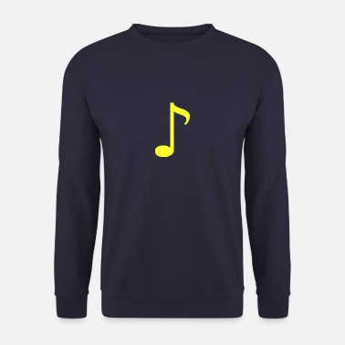 Note jaune - Sweat-shirt Homme