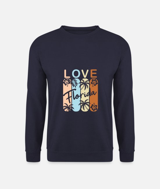 Usa Hoodies & Sweatshirts - Florida - Unisex Sweatshirt navy