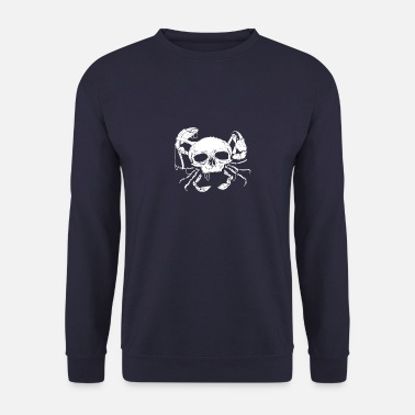 German North German Platt saying gift · Skull - Men's Sweatshirt