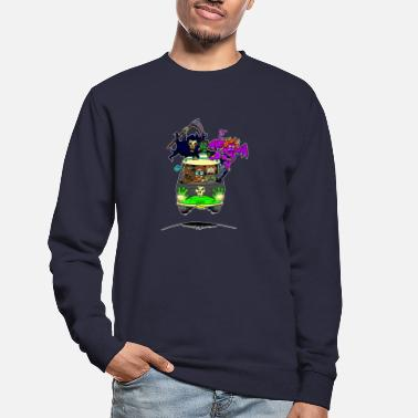 Scooby No Scooby fan art final - Unisex Sweatshirt