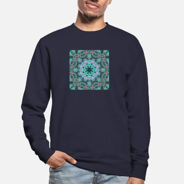 Shape KALEIDOSCOPE LYS ABSTRAITS 2 FLEURS 2 - Sweat-shirt Unisexe
