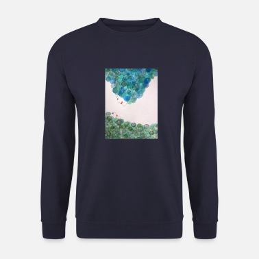 Design God and Goddess blau-grün - Männer Pullover