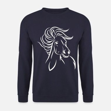 Sauvage Cheval cheval - Sweat-shirt Unisexe