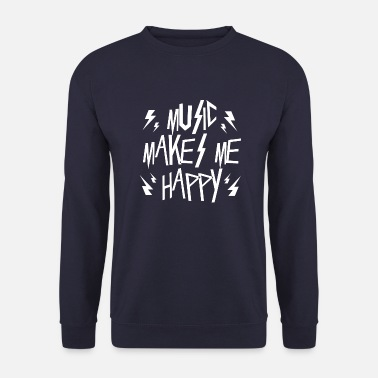 Mp3 Music makes me happige - Unisex Pullover