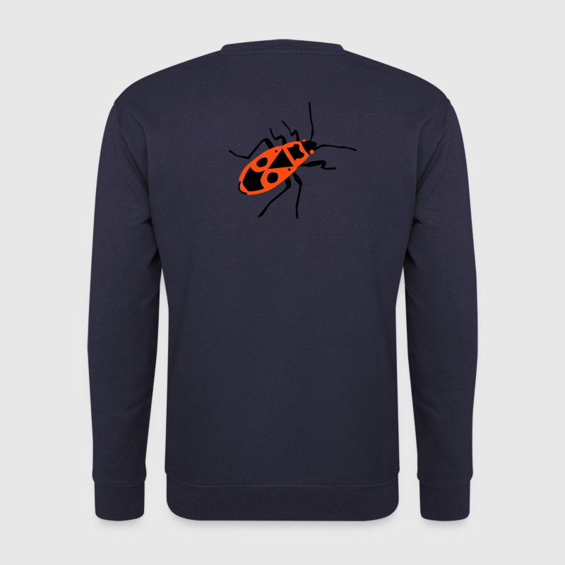 Fire beetle - insect - Firebug - Men's Sweatshirt