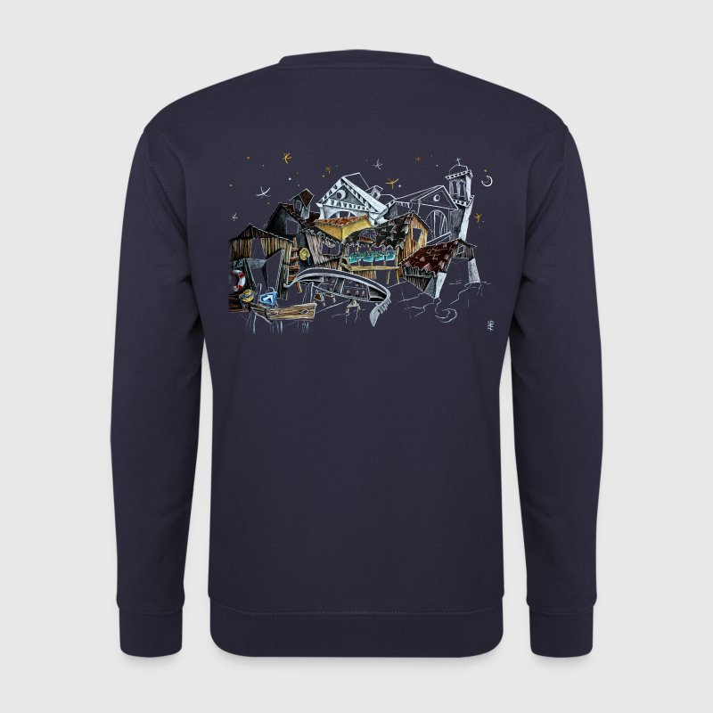 Venice T-shirts - Gondola Night Dream - Fashion Italy - Men's Sweatshirt
