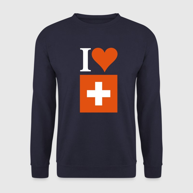 I LOVE SWITZERLAND - Men's Sweatshirt