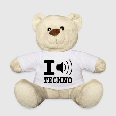 I love techno / I speaker techno - Teddy Bear