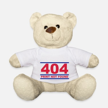 Nerdblur Com 404 - Print not Found - Teddy Bear