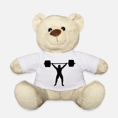 Weight Lifting Weight lifting - Ours en peluche