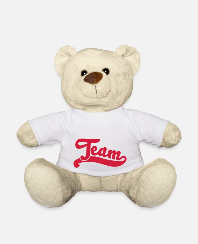 Sport Teddy Bear Toys - team - Teddy Bear white