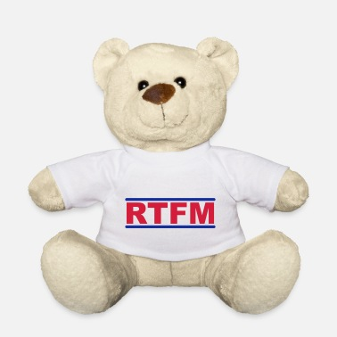 Nerdblur Com RTFM - Read The Fucking Manual - Teddy Bear