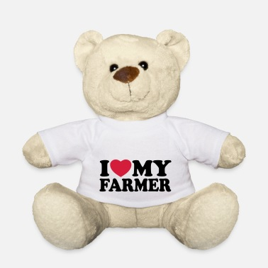 I love my farmer - Osito de peluche