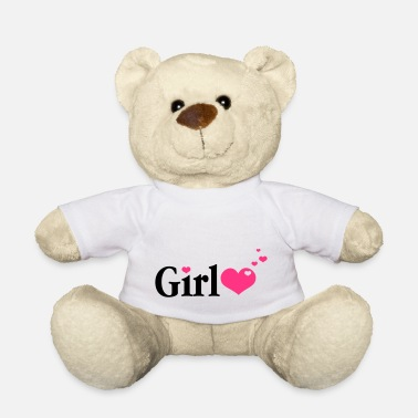 Daddys Girl Girl with Hearts - Bamse