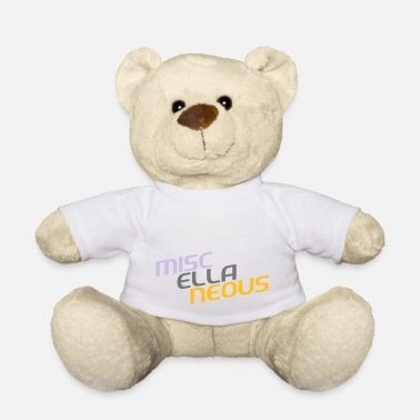 Miscellaneous miscellaneous english gift slogan colored motive - Teddy Bear