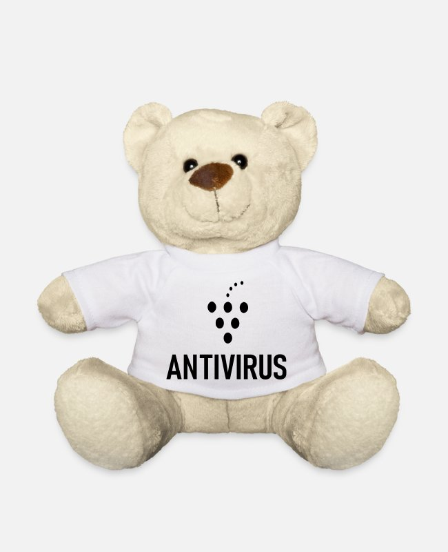 Bless You Teddy Bear Toys - Antivirus spritzer - Teddy Bear white
