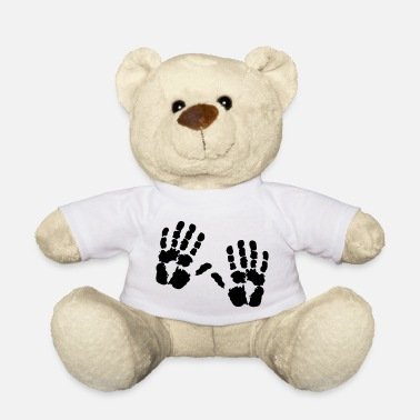 Handprint hand - Teddy Bear