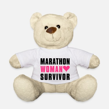 Black Heart marathon_survivor - Teddy Bear