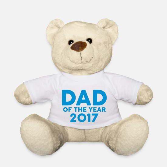 Jul Bamser - Dad of the Year 2017 - Bamse hvid