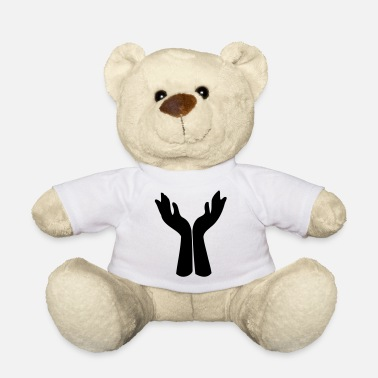 Mindfulness ❤†Open Praying Hands-Undying Love for Jesus& God†❤ - Teddy Bear