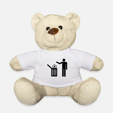 Trash Football = trash - Ours en peluche